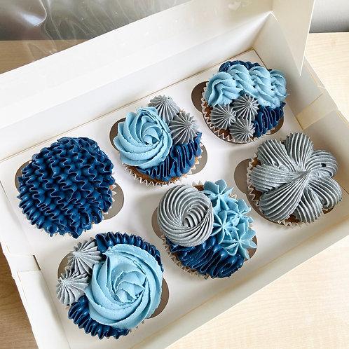 Box of 6 Handmade Cupcakes