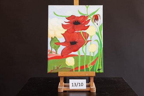Contemporary Poppies - Joanne Ryan