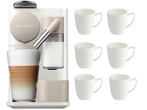 DeLonghi Lattissima One Nespresso Coffee Machine and Coffee Cups Bundle