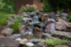 The sound, movement, and relaxation experienced from waterfalls in a waterscape is very unique compared to other landscaping options.