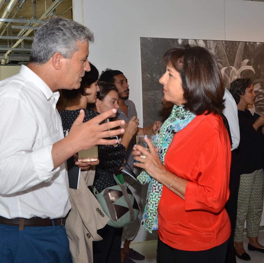 Najia Mehadji et Abdelaziz Isrissi
