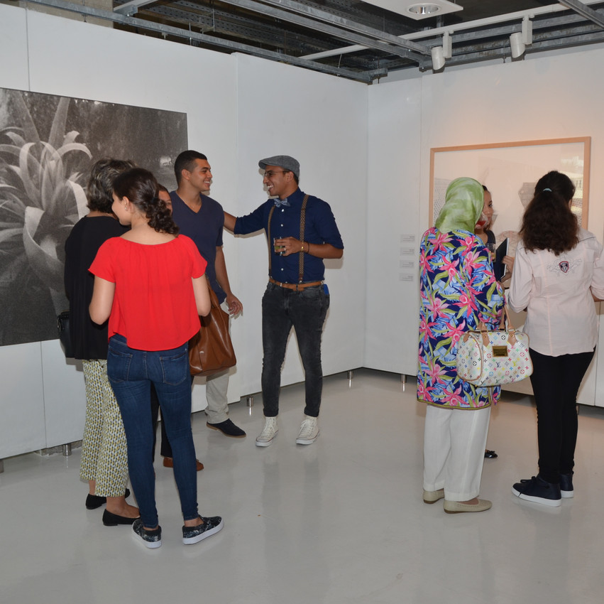 Les œuvres d'Houda Kabbaj et Safaa Mazirh