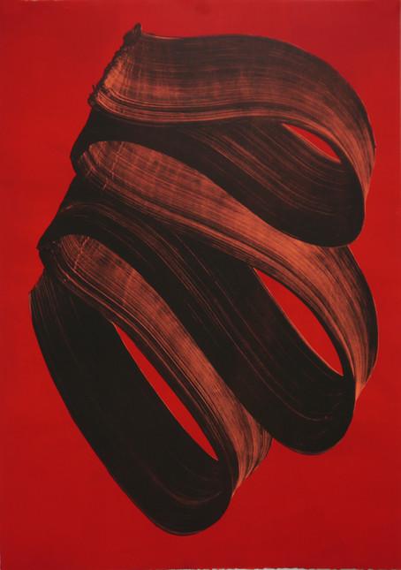 Volute (2013)  Lithographie (105 x 75 cm) créée en exclusivité pour Art Absolument Collection
