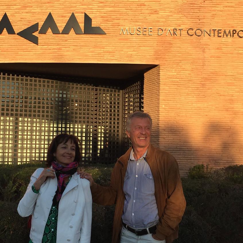 Najia Mehadji et Pascal Amel