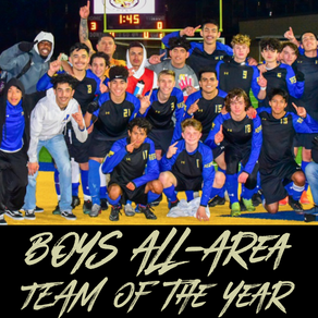 Wood High Boys Take Home 2020 All-Area Team of the Year