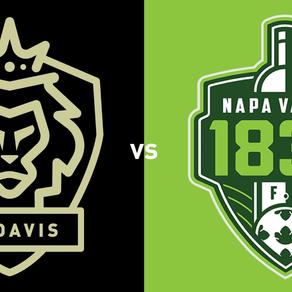 FC Davis Hosts 1st Place Napa Valley 1839 on Saturday Night, April 14th at 7:00PM