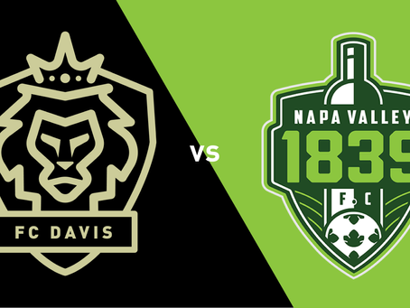 First Place Up For Grabs Saturday Night When FC Davis Hosts Napa Valley 1839