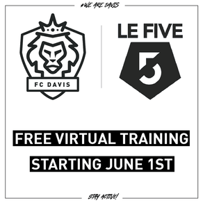FC Davis, Le Five Team Up For Free Online Youth Training