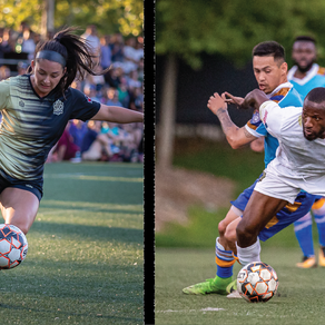 Lion's and Lionesses Team Up For Soccer Fest
