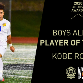 Kobe Rolling Wins 2020 FC Davis High School All-Area Boys Player of the Year Award
