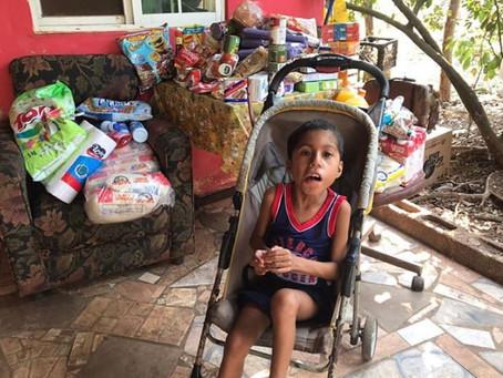 Apoyo en compra de alimento durante el período de Covid-19 a la familia de Luis Ramos - Abril 2020