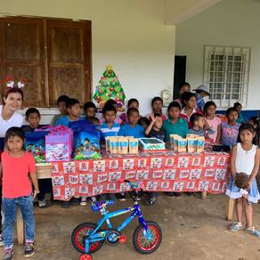 Fiesta de Navidad para niños de Colegio Multigrado ubicado en Olla Abajo de Capira - Diciembre 2019