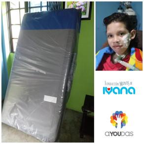 Apoyo a fundación Ayoudas para la remodelación del cuarto de Luis  Nieto - Marzo 2020