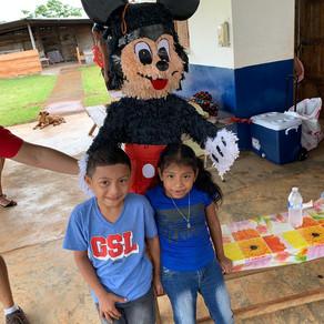 Cumpleaños para niños de  Colegio Multrigrado ubicado en Olla Abajo de Capira - Julio 2019