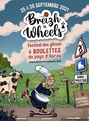 L'affiche de Breizh 'n Wheels