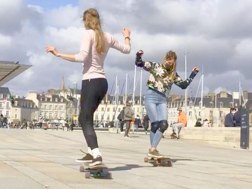 Le longboard dancing arrive en force à Vannes
