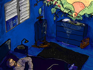 Nocturnal Habits: The Unbearable Lightness of Sleeping