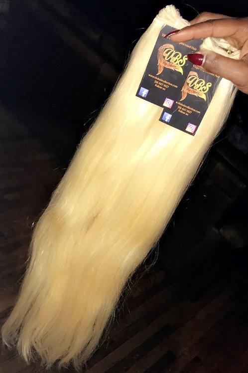 Platinum Raw Bold Blonde Straight