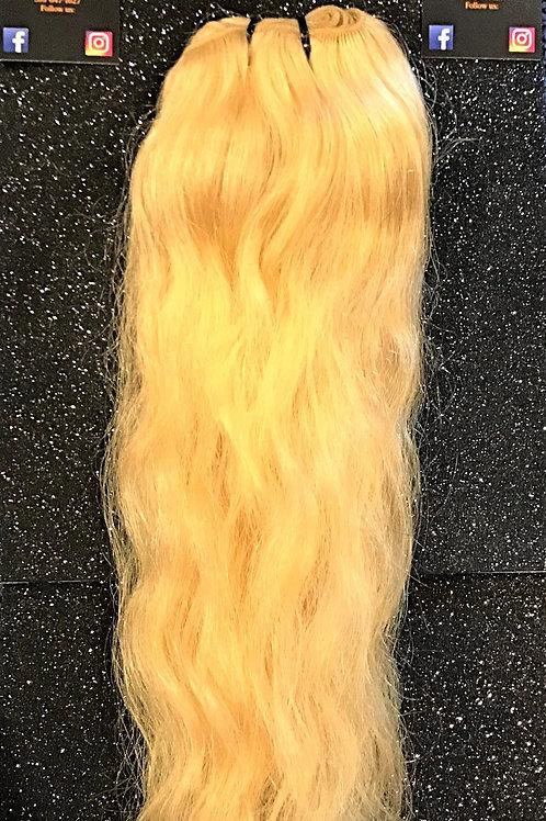 Platinum Raw Bold Blonde Wavy