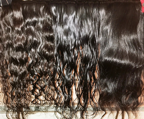 Raw Indian Hair Is The Best On Market It Directly Sourced From Temples In India Single Donors And 100 Unprocessed