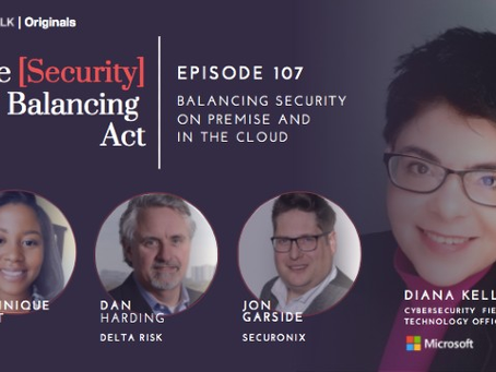 Webinar: Balancing Security on Premise and In The Cloud