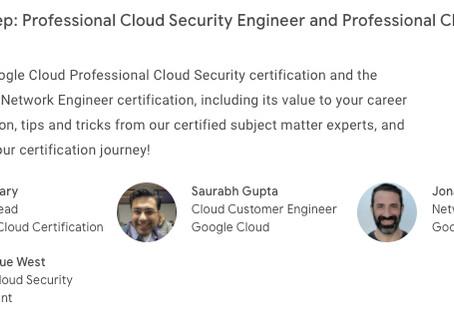 Cloud Study Jam: Professional Cloud Security Engineer Certification
