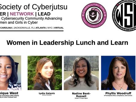 Women in Cyber Leadership Panel Replay