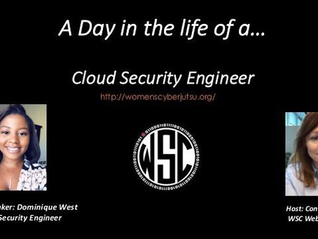 A day in the life of a...Cloud Security Engineer