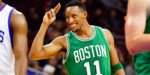 The Knicks have been linked to Evan Turner as a guard upgrade this off season.