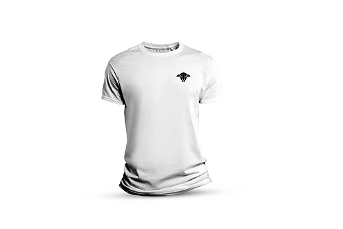 White FTS T-shirt. (Small Sheep)