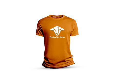 Orange FTS T-shirt (big sheep)