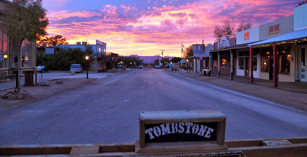 Downtown Tombstone, just a few minutes away from one of the best dude ranches in Arizona