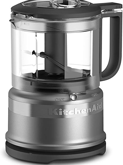 KitchenAid Mini-procesador de alimentos color Silver