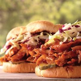 Sandwich de pollo Weber