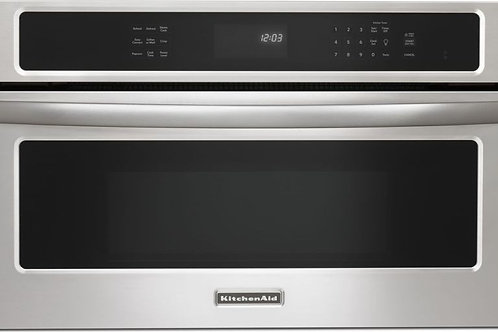 KitchenAid Microondas empotrable 1.4 Cu. Ft. 30in