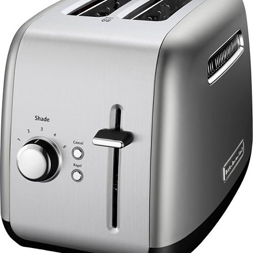 KitchenAid Tostador de Pan 2 Rodajas color Silver