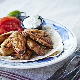 Alitas de pollo picante Weber