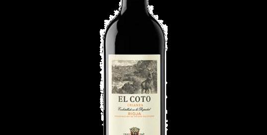 Vino Tinto El Coto Rioja Crianza 2016 750ML   WEBER