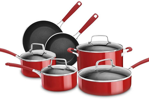 KitchenAid Bateria de Cocina 10 Piezas