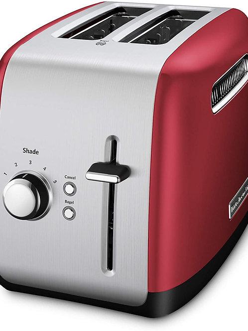 KitchenAid Tostador de Pan 2 Rodajas color Rojo