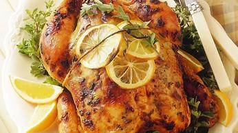 Pollo al limón Weber