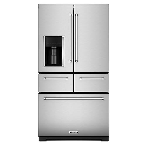 KitchenAid Refrigeradora French Door 5 puertas 25.8 p3 / 36in