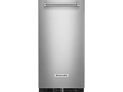 KitchenAid Ice Maker empotrable con bomba 25 lbs / 15in