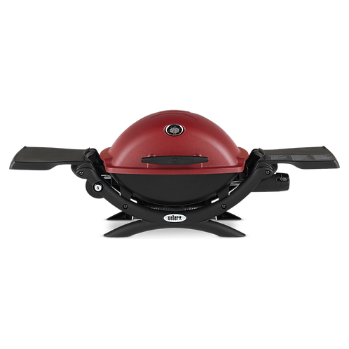 Weber Asador de Gas Portatil Q 1200 color Rojo