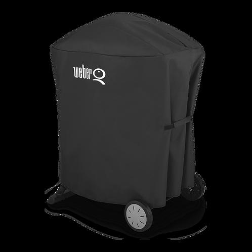 Weber Cover asador Premium disenado asadores Q 100/1000/200/2000 con carrito