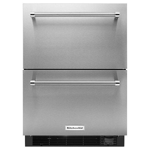 KitchenAid Refrigeradora cajón doble 5 p3 / 24in