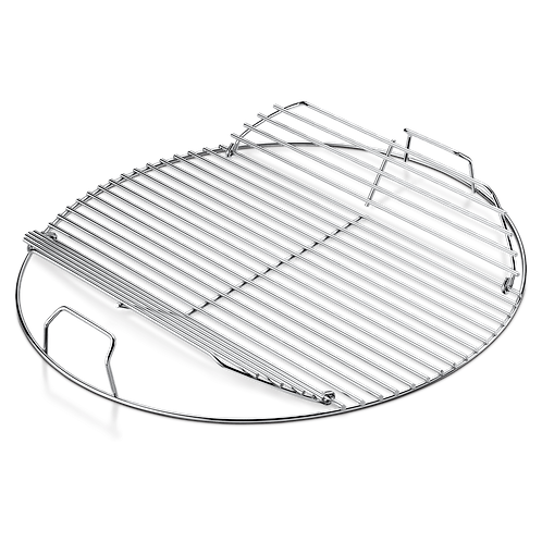 Weber Parrilla de coccion con bisagras Asadores de carbon de 18in