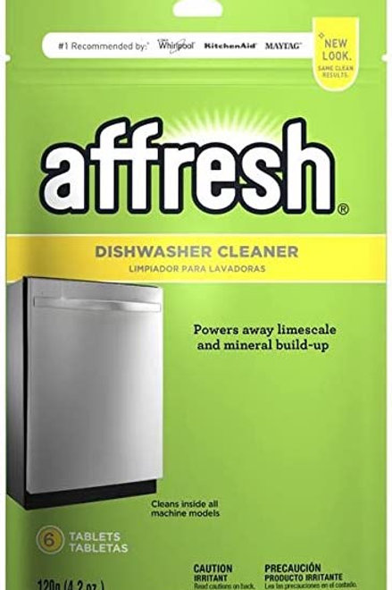 Affresh Tableta limpiador de lavavajillas