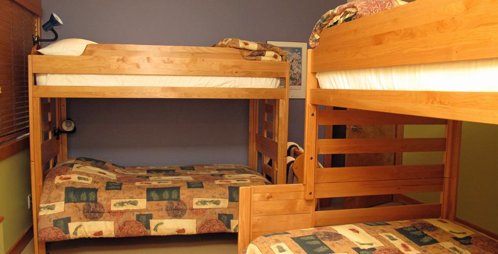 Bunk room double bunks