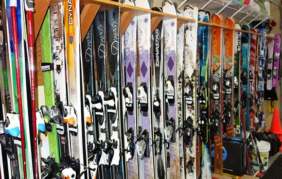 Skis & Poles Rental | Adult